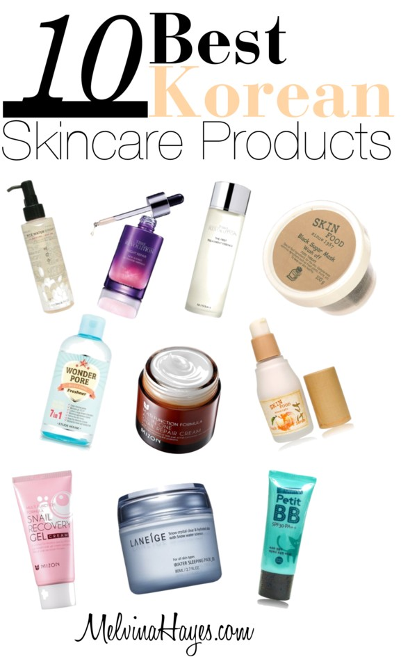 Best Natural Korean Skin Care Products